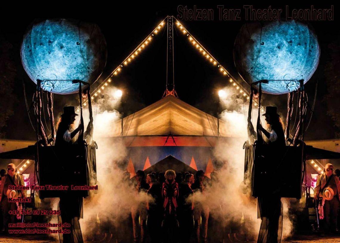 Das Buch zum Stelzen Tanz Theater – Leonhard