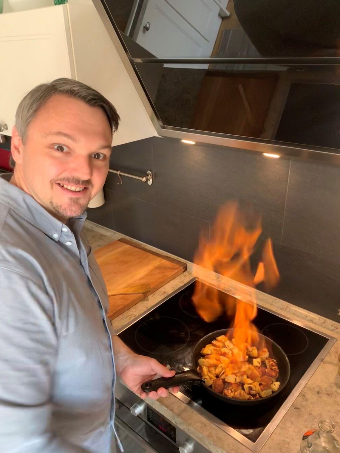 Aus der heimischen Küche zurück ins