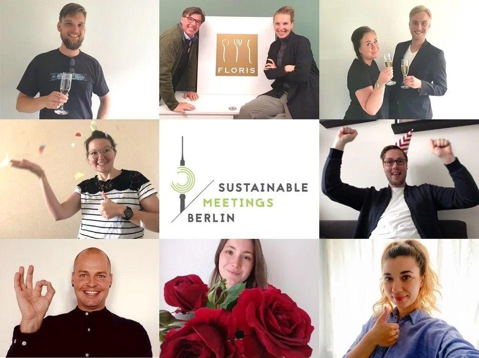 FLORIS GREEN CATERING NEWS - Auszeichnung für Nachhaltigkeit im Catering erhalten