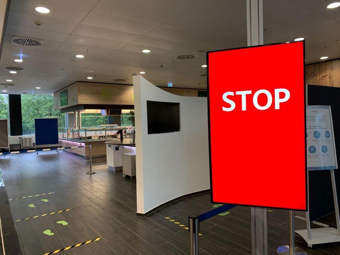 satis&fy regelt Personenfluss im Betriebsrestaurant der Deutsche Börse AG