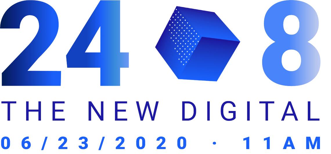 "LIVESTREAM ""24/8 – THE  NEW DIGITAL"" – aus dem bauwerk.köln am 23. Juni 2020 - 11.00 Uhr"