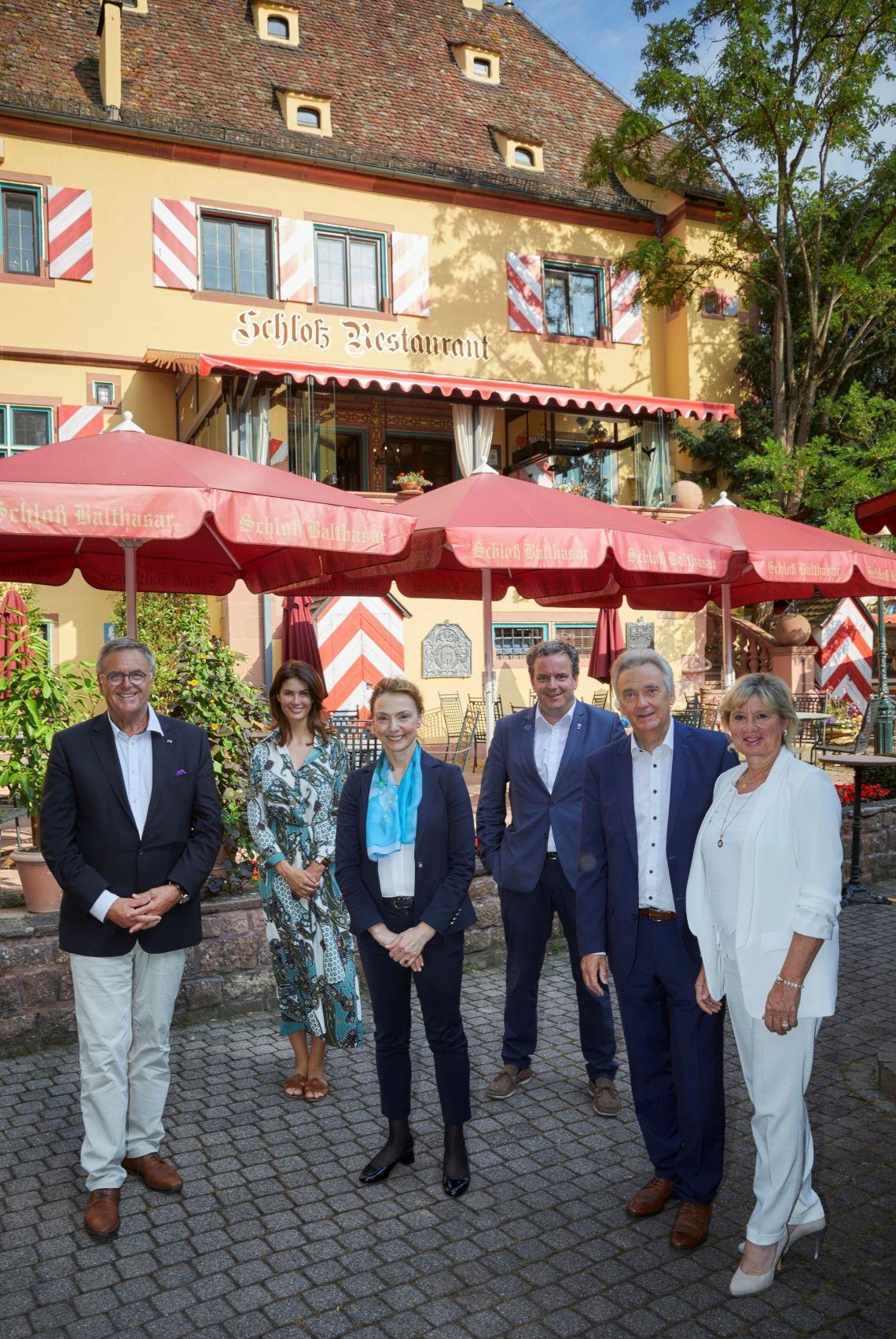Europa-Park und Europarat bauen Zusammenarbeit weiter aus: Neue Generalsekretärin Burić trifft sich mit Familie Mack in Rust