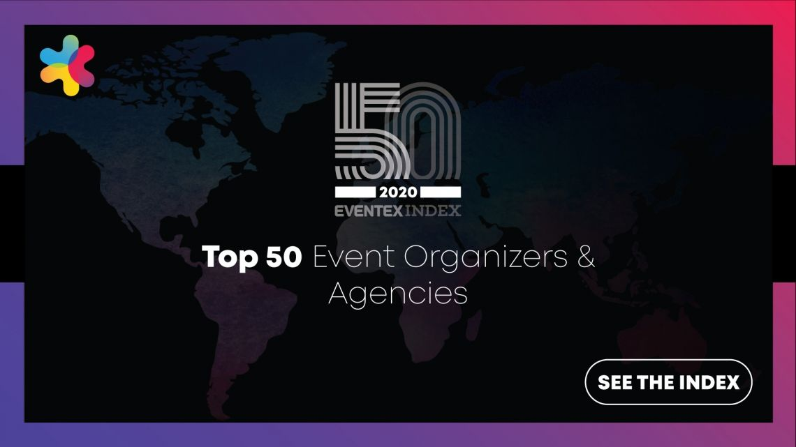 Eventex Index:The Top 50 Event Organizers and Agencies for 2020