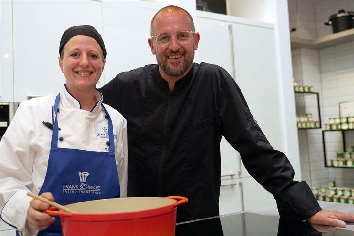 Neue Köchin hebt die Frauenquote bei der FSGG an - Ulrike Plate hat die Freude am Kochen wiedererlangt