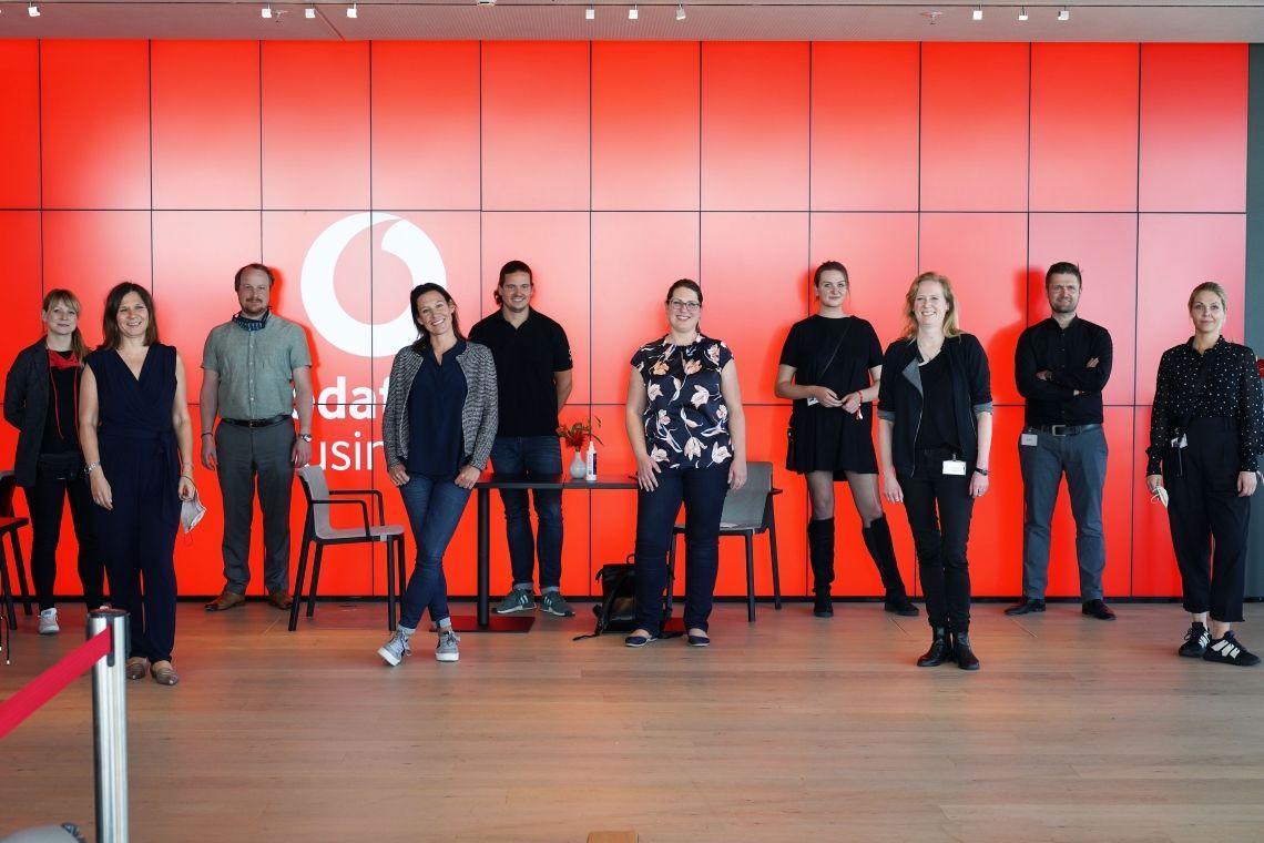 Vodafone Sales Kick-off wird zum Virtual Event made by VOK DAMS