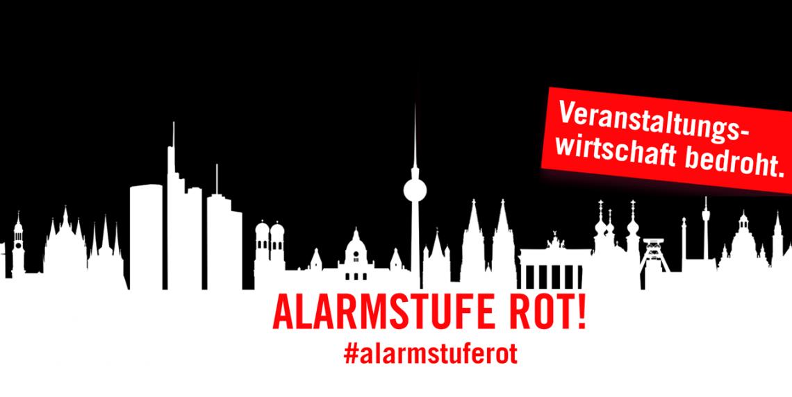 Bündnis gegründet: #AlarmstufeRot zur Rettung der Veranstaltungswirtschaft