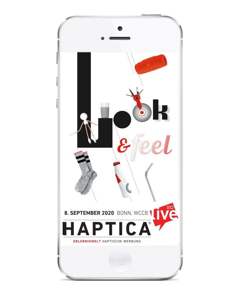 HAPTICA® live '20 – aber sicher!