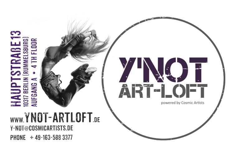 Crowdfunding Y´NOT ART LOFT Berlin