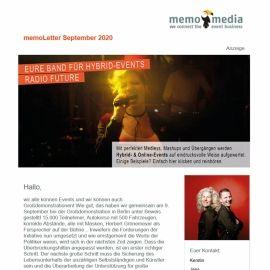 memoLetter 09-2020