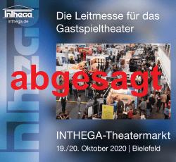 INTHEGA-Theatermarkt 2020 fällt aus