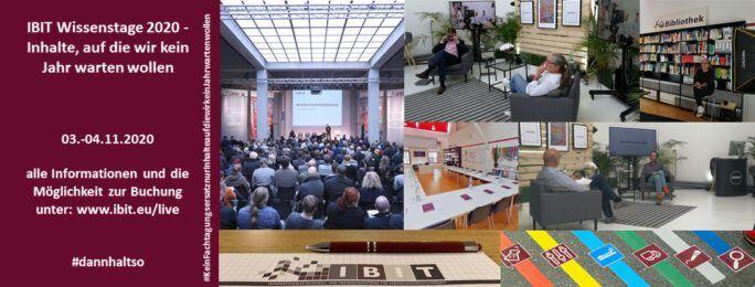 IBIT Wissenstage 2020 – Digitale Sessions zur Veranstaltungssicherheit vom 03. - 04.11.2020