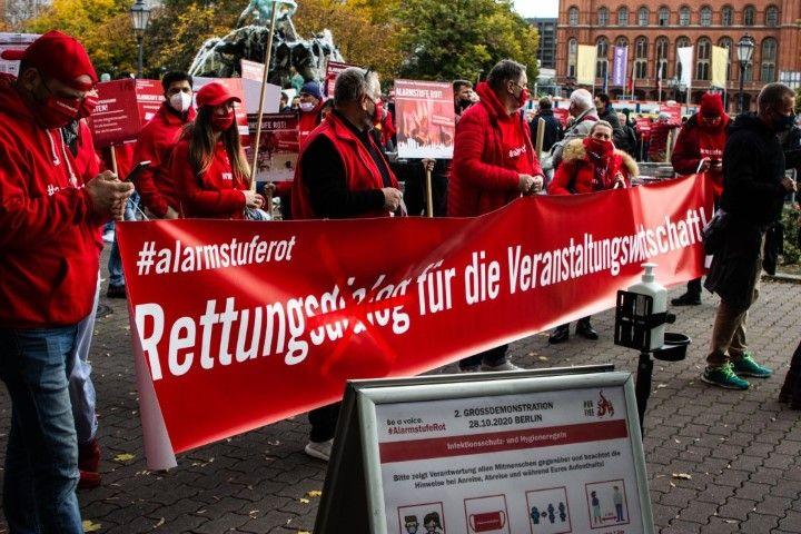#AlarmstufeRot - die zweite Großdemonstration in Berlin