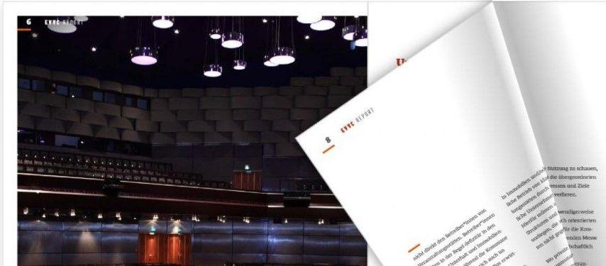 """""""Veranstaltungszentren – unverzichtbar und gewinnbringend"""": EVVC rückt den Wert von Veranstaltungszentren in den Fokus"""