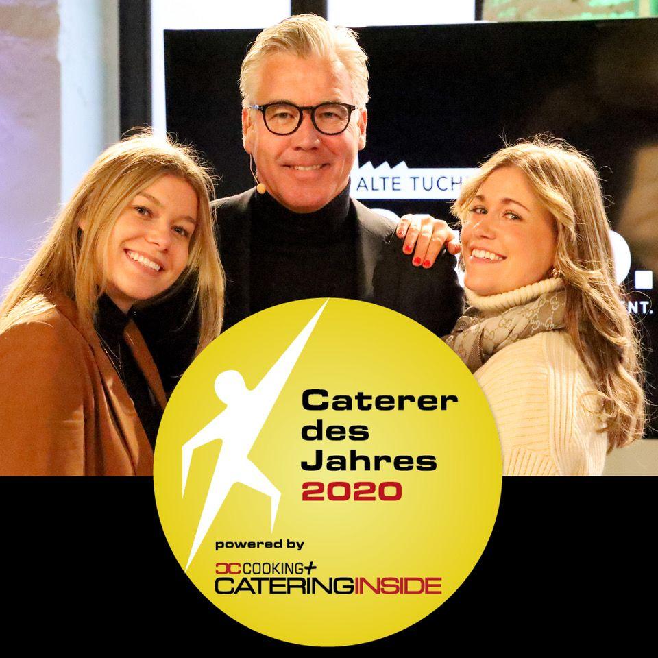 """Branchen-Magazin """"Cooking+Catering inside"""" kürt lemonpie zum Caterer des Jahres 2020"""