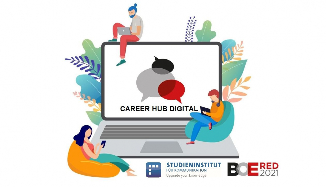 CAREER HUB DIGITAL 2021: Das Studieninstitut für Kommunikation lädt zum virtuellen Fachforum