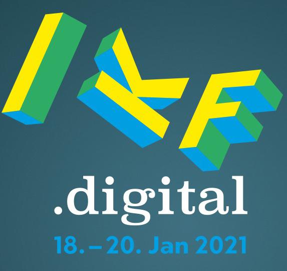 In wenigen Tagen startet die IKF.digital 2021