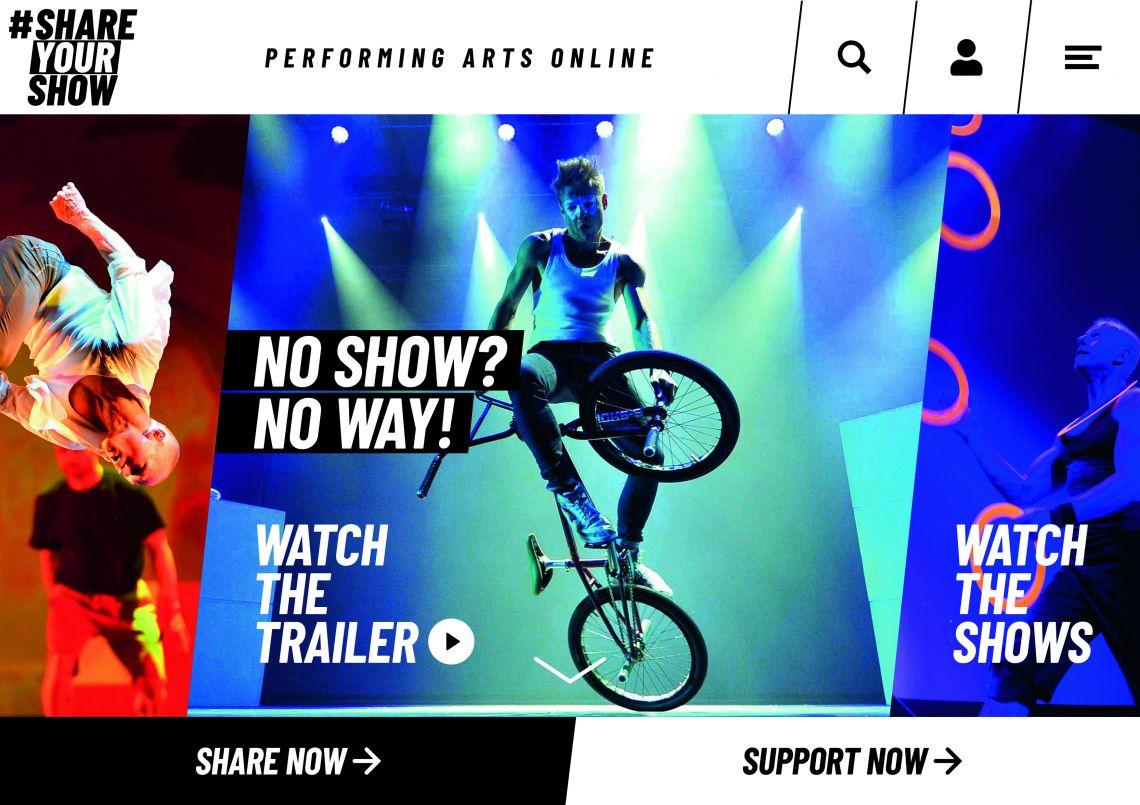 #SHAREYOURSHOW: Neue Plattform für Künstler und Talente geht online!