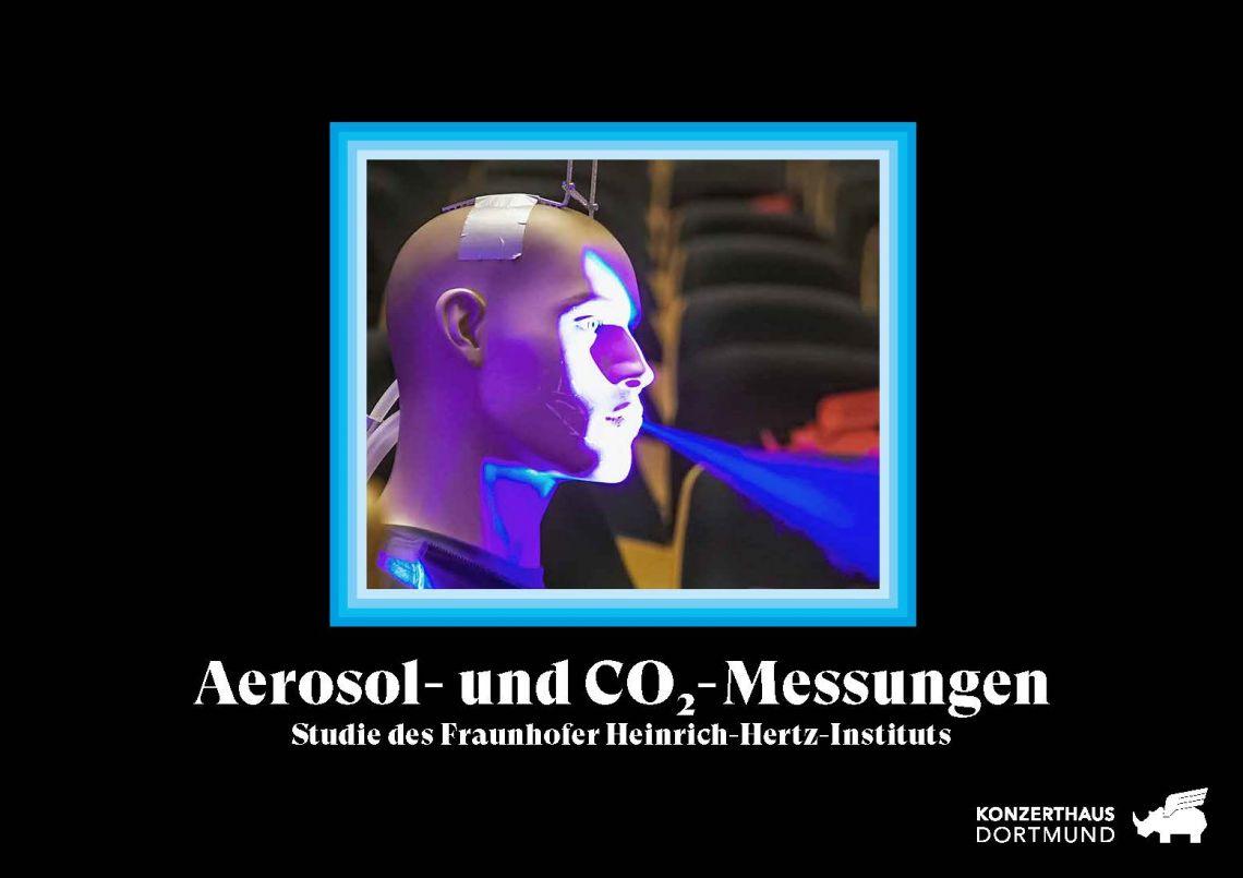 Aerosol- und CO2-Messungen im Konzerthaus Dortmund liefern Fakten zu Corona-Ansteckungsgefahr bei Besuchen von Konzerthäusern und Theatern