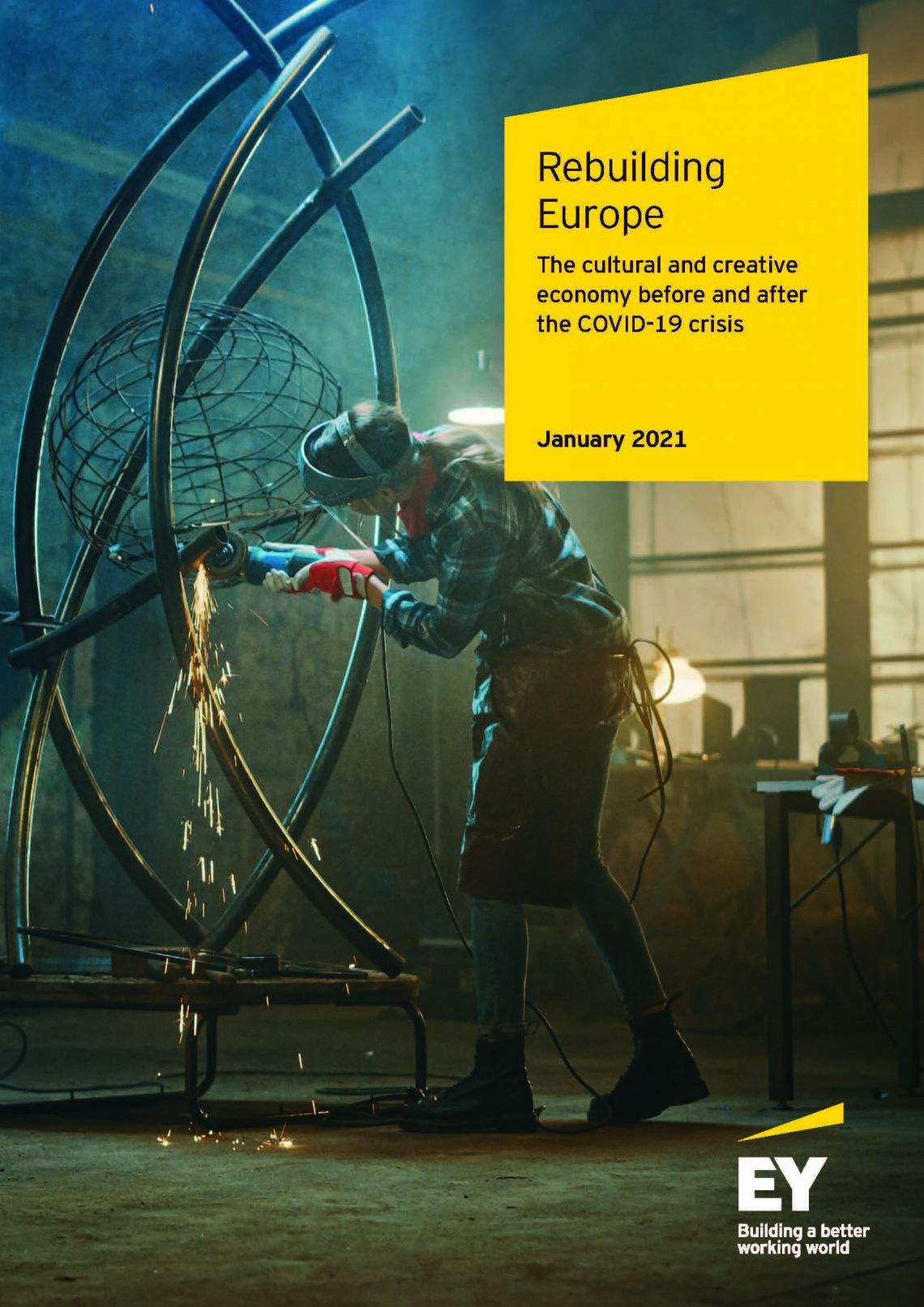 New study reveals that cultural and creative industries could hold the key to rebuilding Europe's battered economy