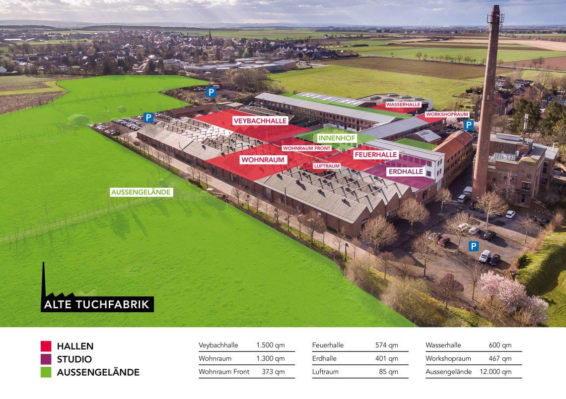 Alte Tuchfabrik öffnet sich für Haus- und Themenmessen sowie Hybrid-Events