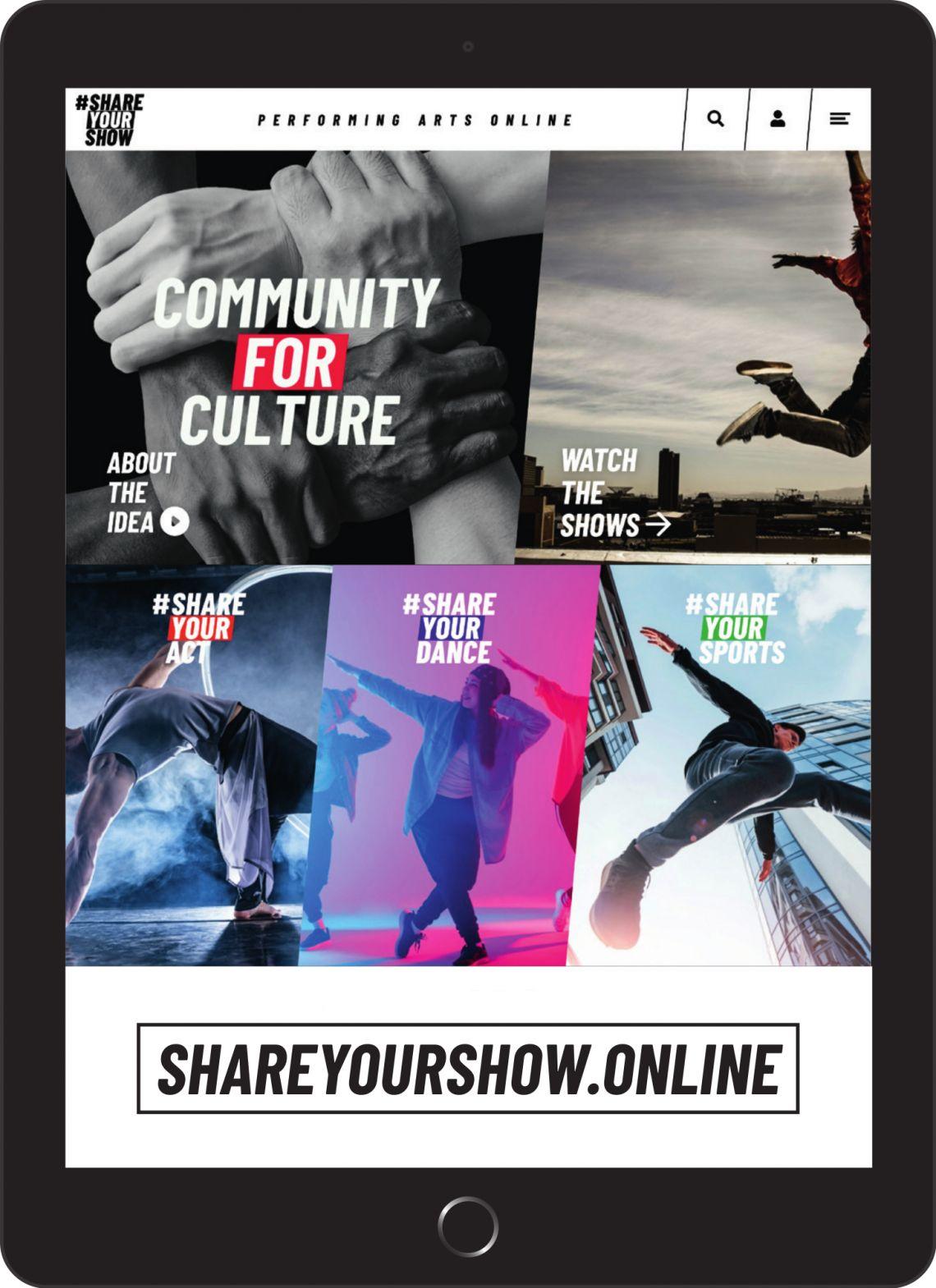 #SHAREYOURSHOW: Videoportal für Künstler und Talente jetzt online!