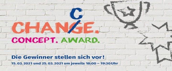 Marketingpreis 2021 – Concepts for Change Award. Die Gewinner stehen fest