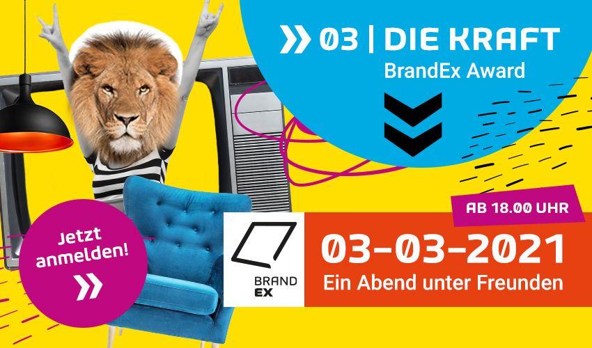 BrandEx 2021: Ein Abend unter Freunden – live im Wohnzimmer