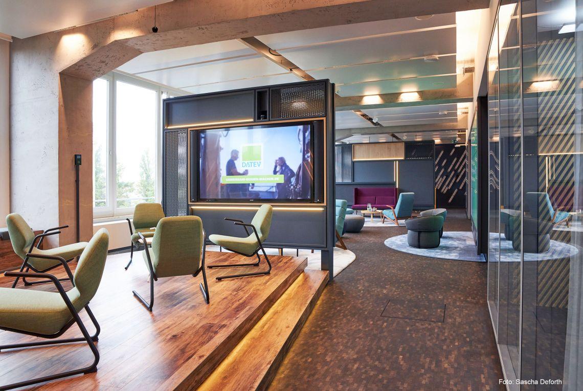 CE+Co gestaltet wegweisendes Experience Center für die DATEV eG
