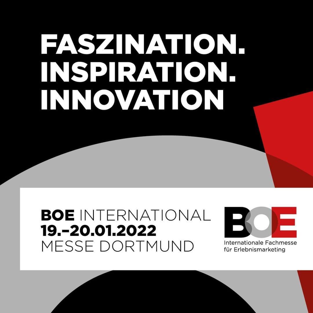 BOE INTERNATIONAL im Januar 2022 –  365 Tage digital ab dem 09. Juni