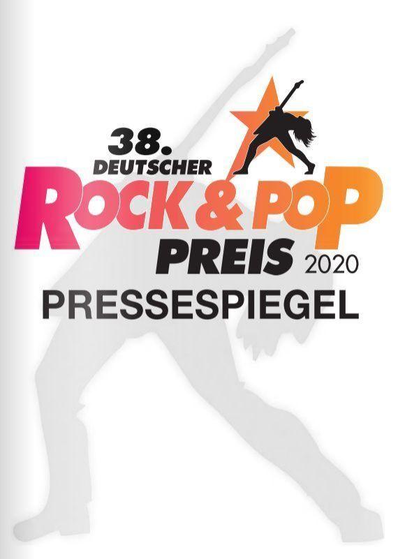 Der Pressespiegel zum 38. Deutschen Rock & Pop Preis 2020