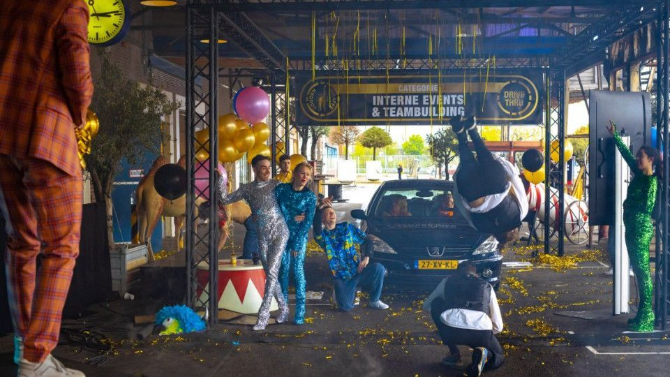 A Drive Thru event to present the finalists of Gouden Giraffe Event Awards