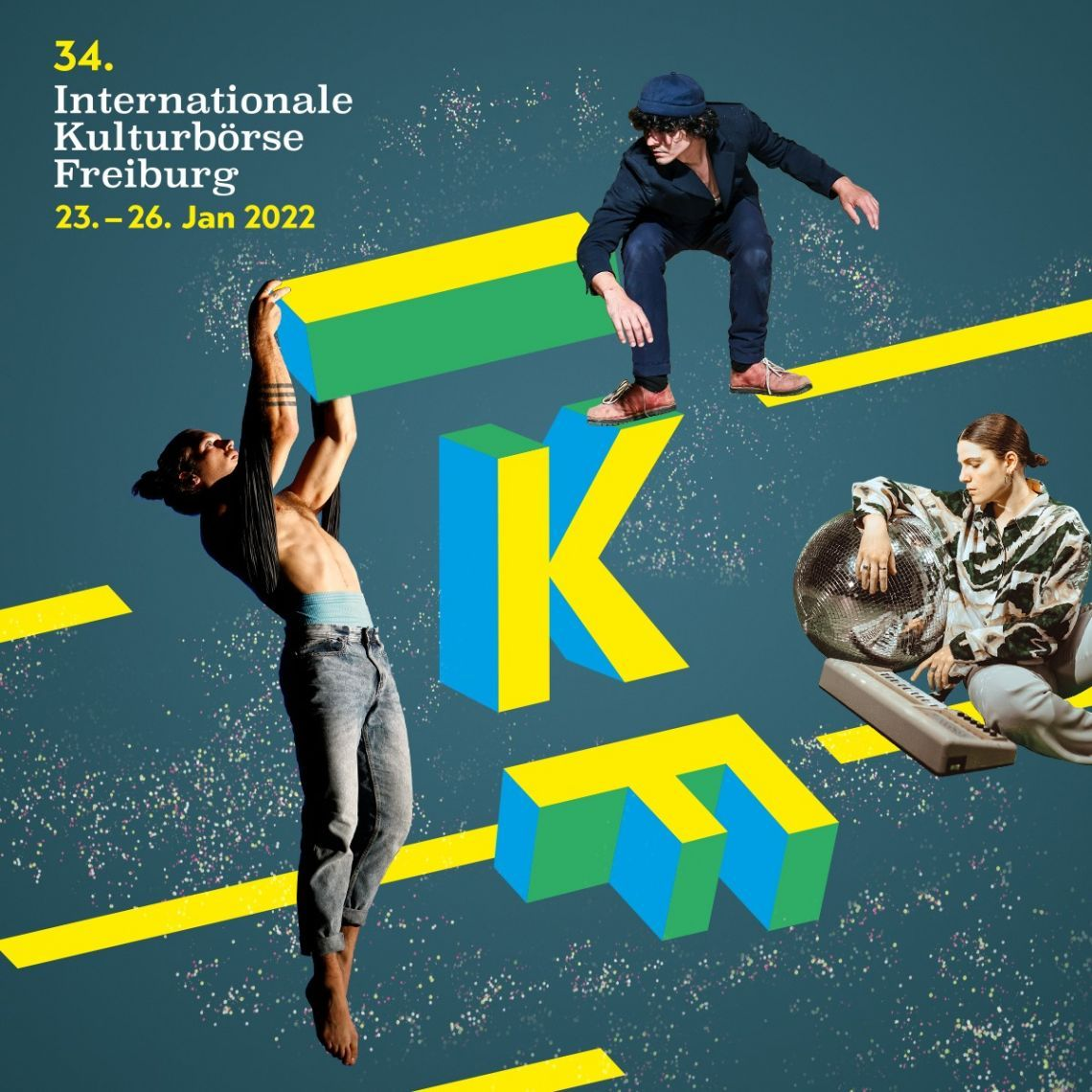 34. Internationale Kulturbörse Freiburg (IKF) Internationale Fachmesse für Bühnenproduktionen, Musik und Events 23. bis 26. Januar 2022, Messe Freiburg