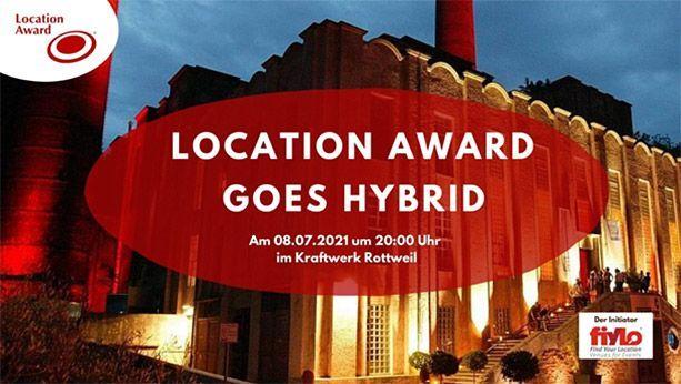 Bewerbungsstart für den Location Award 2021