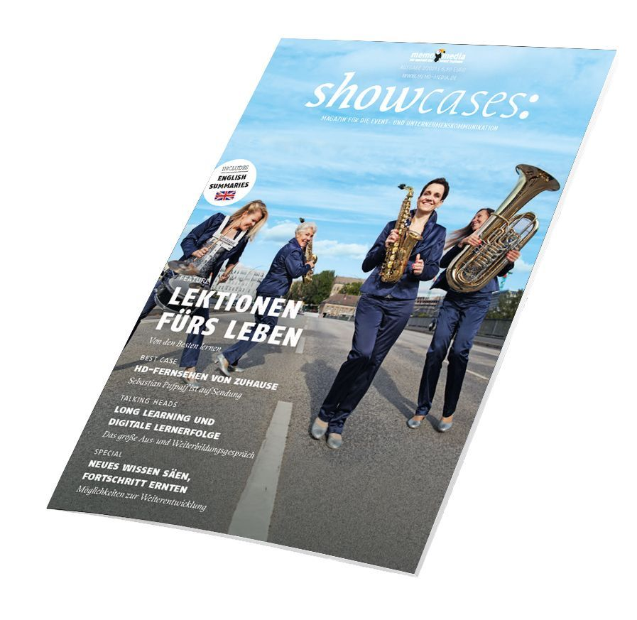 showcases: Aus- und Weiterbildungen in der Eventbranche