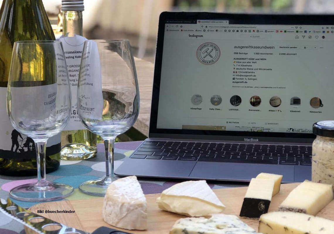 Käse-Gaumengenuss im Online-Team-Event genießen