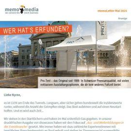 Der memoLetter: Deine Eventbranchennews im Mai 2021