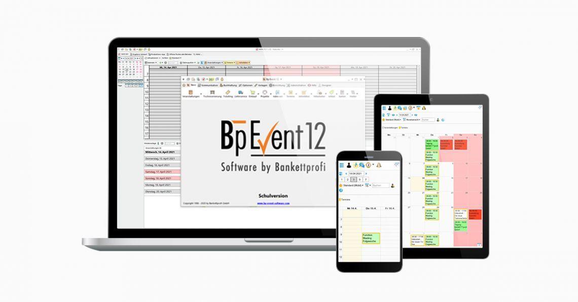 Entdecken Sie die neue Version Bp Event 12