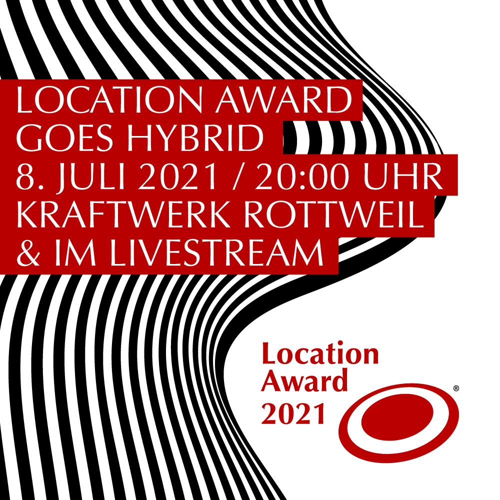 Das sind die Nominierten des Location Award 2021