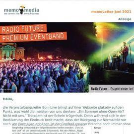 Der memoLetter: Deine Eventbranchennews im Juni 2021