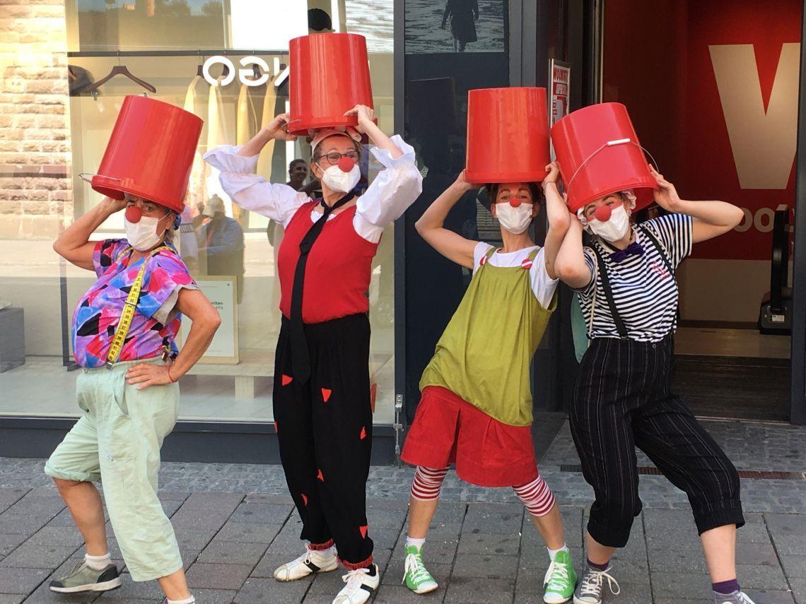 Kultursommer 2021 in Konstanz am Bodensee: Ferienseminare Clown, Theater und Comedy