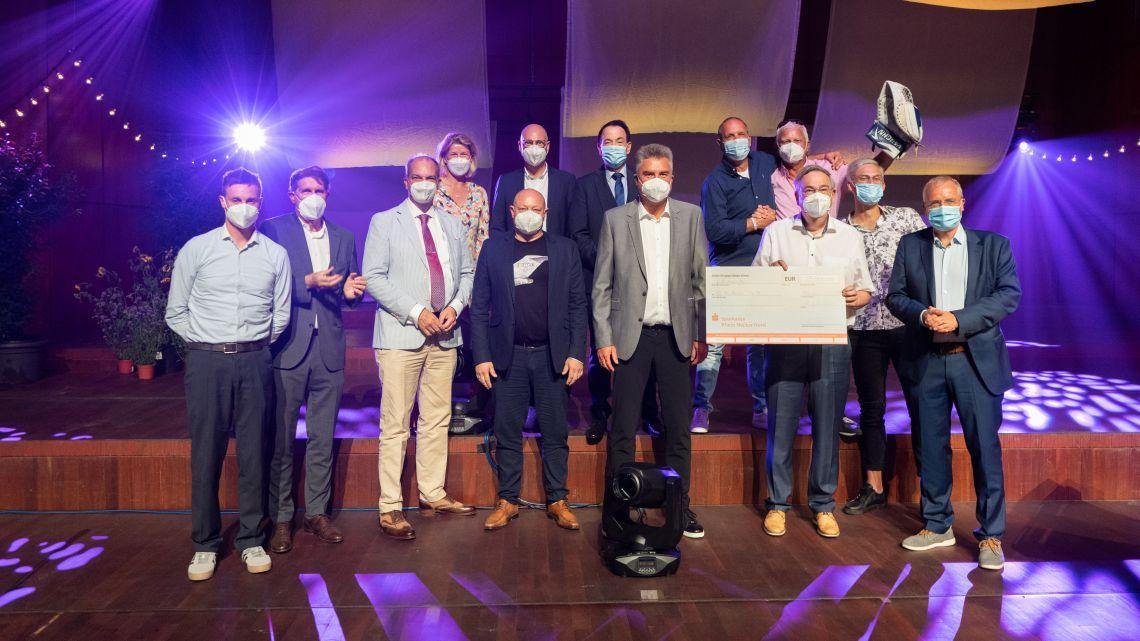 m:con sammelt mit Benefiz-Golfturnier 35.000€ für die Kinderkrebsforschung