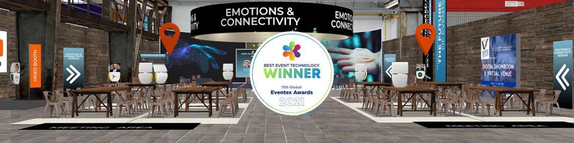 Die Virtual Event Plattform Allseated EXVO ist Gold Winner für Best Event Technology 2021