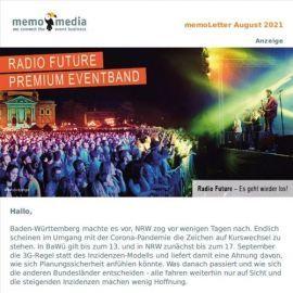 Der memoLetter: Deine Eventbranchennews im August 2021