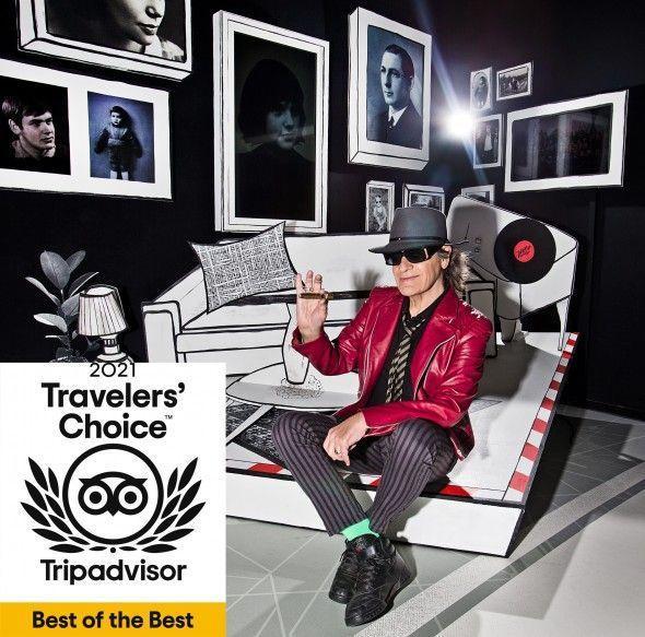 Panik City gewinnt den Tripadvisor Travelers' Choice Best of the Best Award 2021 für Aktivitäten