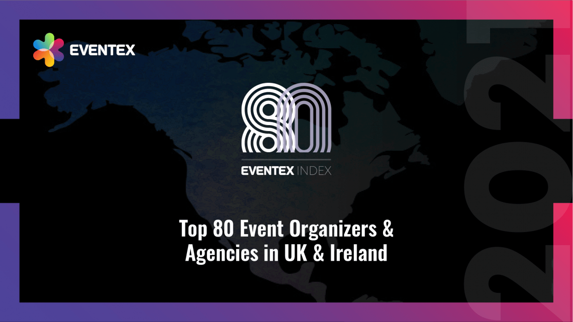 Eventex Index: The Top 80 Event Organizers and Agencies in the UK & Ireland for 2021