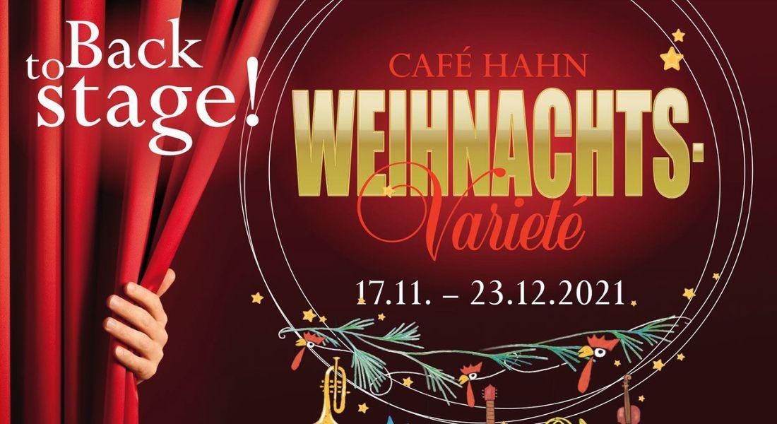 Das Weihnachtsvarieté – Back to Stage!