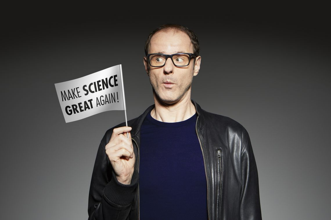 Vince Ebert: Make Science Great Again!
