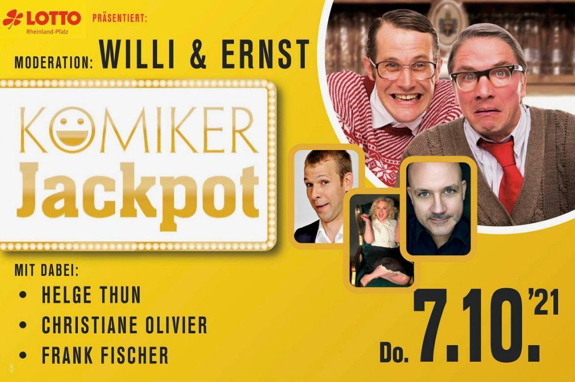 LOTTO Rheinland-Pfalz: Komiker Jackpot 2021