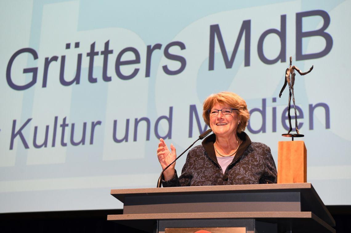 Kulturstaatsministerin Prof. Monika Grütters für ihr Engagement der Kultur im ländlichen Raum geehrt