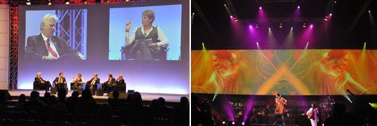 #rail2009: Messe, Kongress & Event - LK-AG verwandelt Bühne in lebendiges Caféhaus